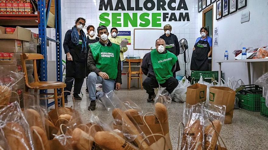 Mallorca sense Fam atiende al doble de familias que antes de la pandemia
