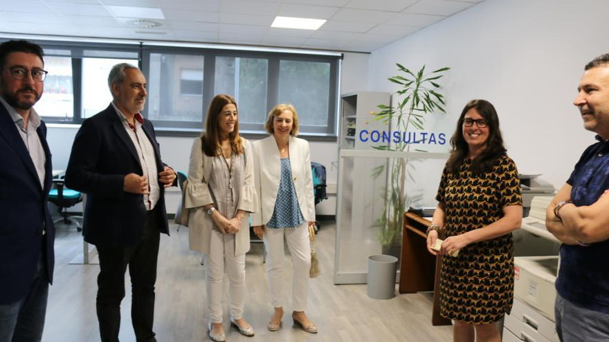 El Instituto Galego de Consumo estrena oficina  en Campolongo