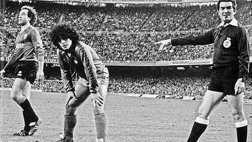 """Damià Amer: """"Lo primero que pensé cuando me encargaron marcar a Maradona fue 'vaya marrón'"""""""