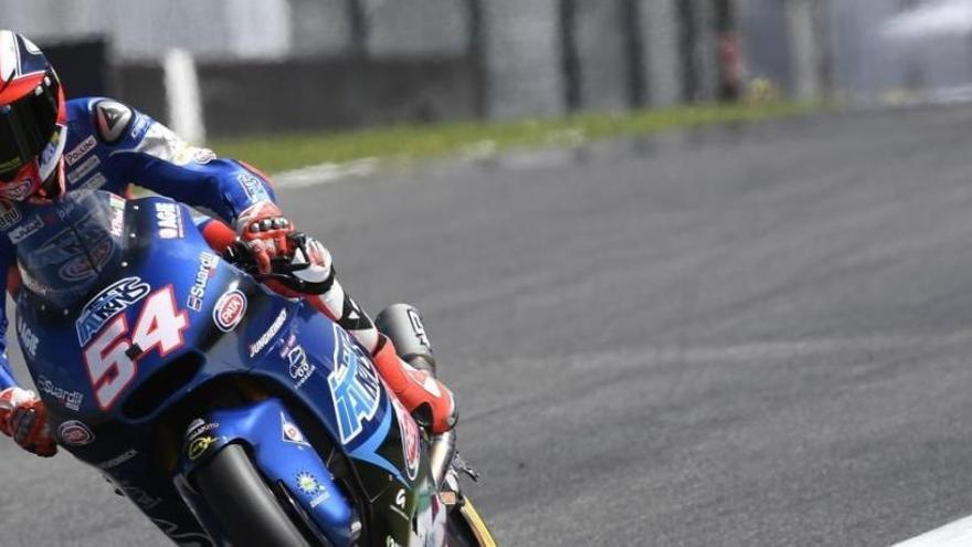 Pasini, el más rápido en la clasificación de Moto2