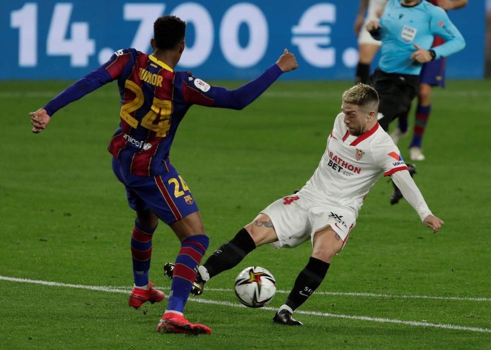 Copa del Rey: Sevilla - Barcelona.