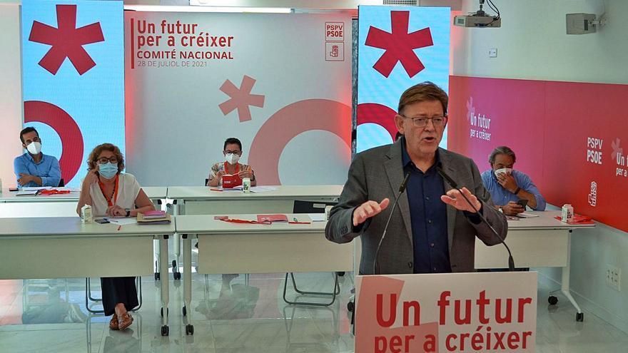 El PSPV celebrará en noviembre su congreso nacional en Benidorm