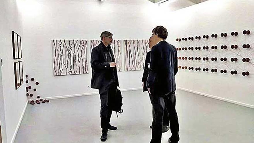 Artistas mallorquines participan en Basilea en la muestra 'Art ran de mar'