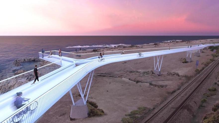 Luz verde al último trámite para completar el carril bici del acceso sur de Alicante