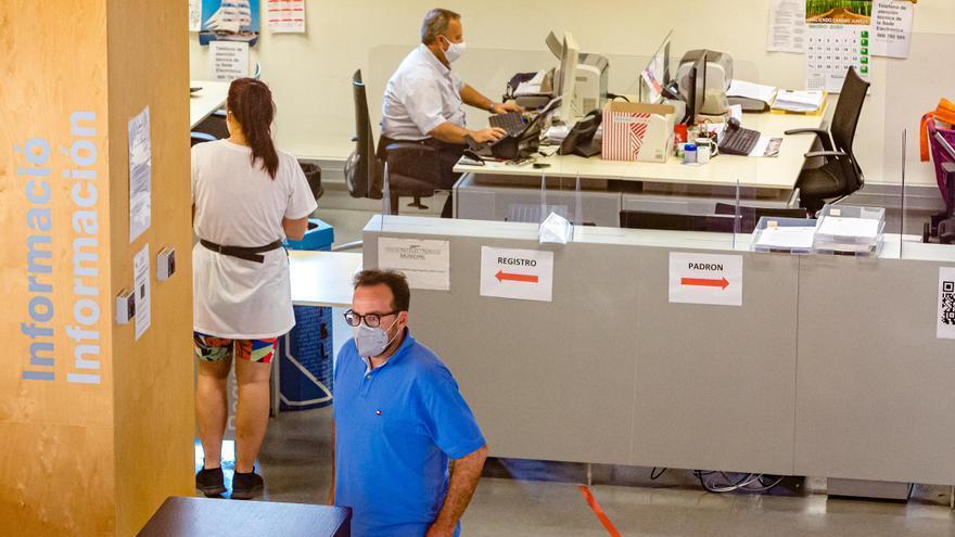 El Ayuntamiento de Benidorm permitirá el teletrabajo a los funcionarios que no estén cara al público