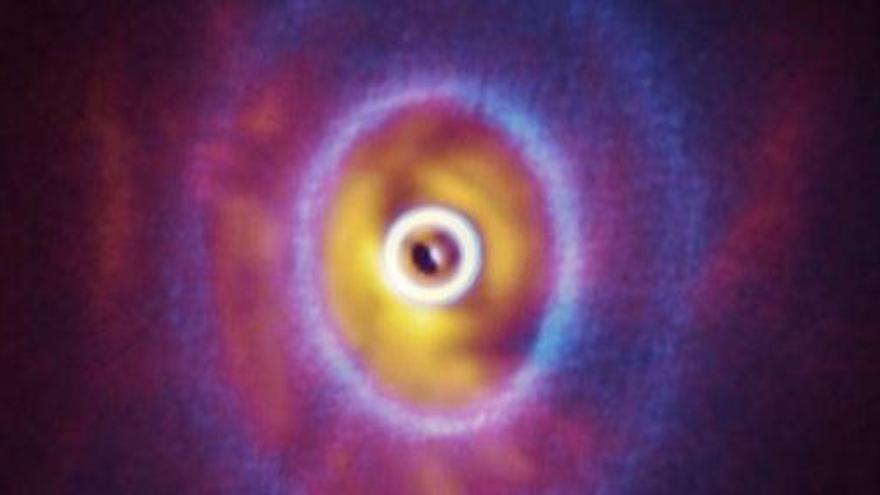 Los sistemas estelares pueden nacer al revés
