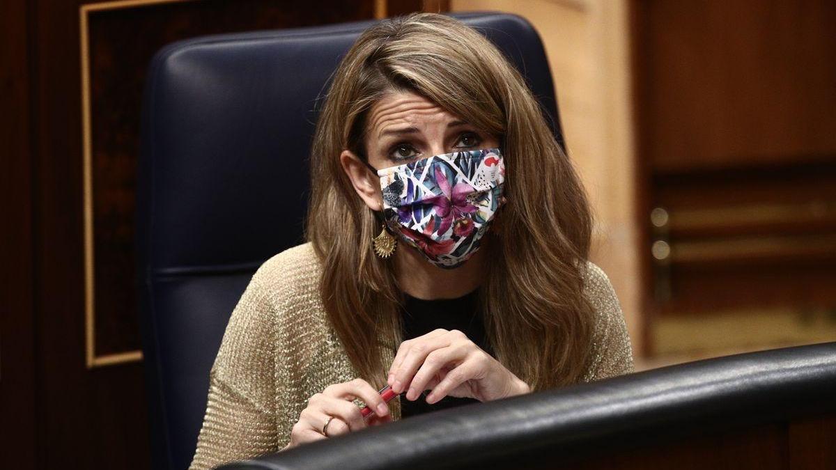 Yolanda Díaz admite que se quedó de piedra con el ofrecimiento de Pablo Iglesias