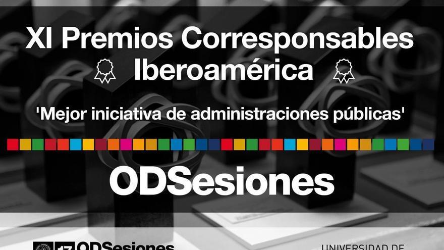 La UMU, premio internacional de 'Corresponsables' a la mejor iniciativa de impulso de los ODS en la administración pública