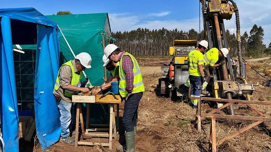 La sueca Eurobattery apura las pruebas de la primera mina gallega para baterías de coches