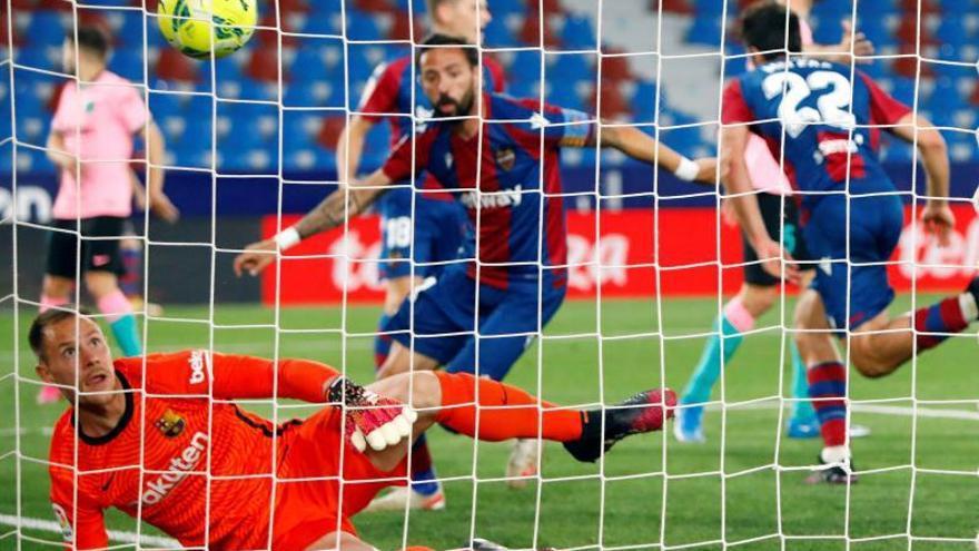 Un Barça horrorós en defensa s'immola per dir adéu al títol