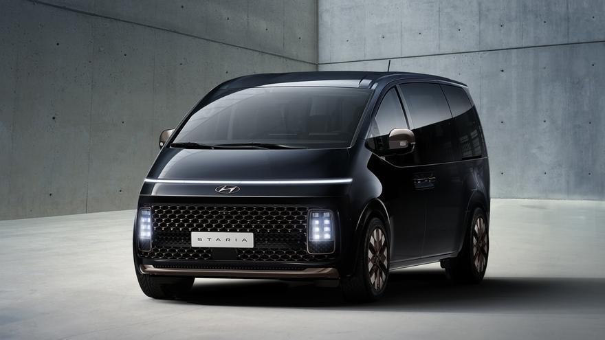 Hyundai Staria: nuevos detalles e imágenes del monovolumen futurista de la marca