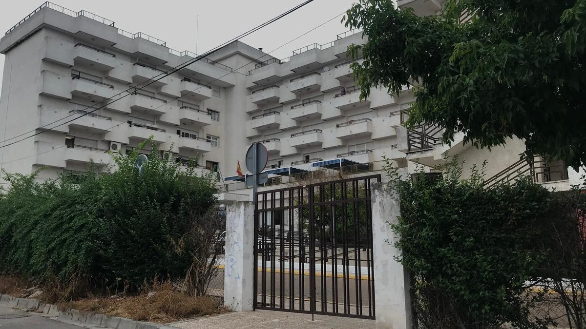 Residencia de mayores El Prado, ubicada en la avenida de la Libertad.