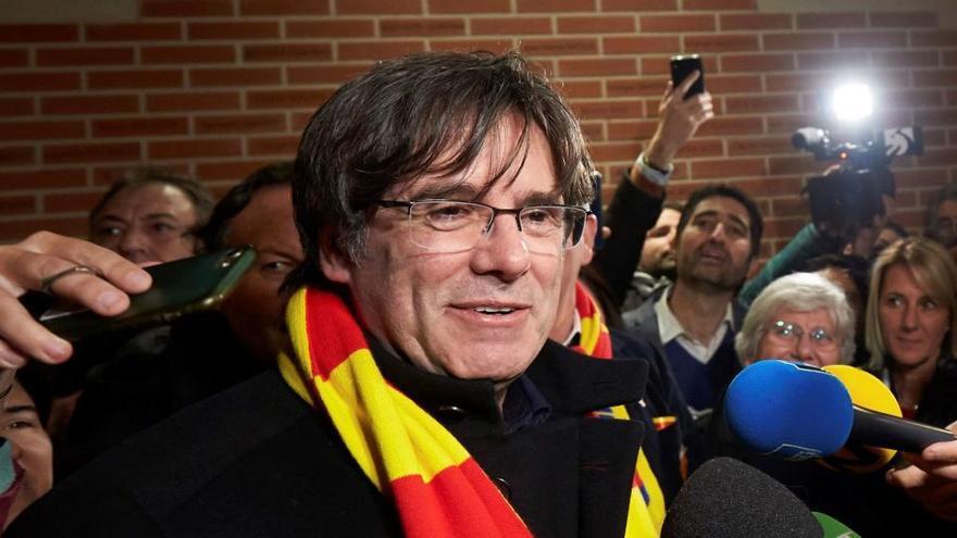 Rechazado el recurso de Vox contra la condición de eurodiputado de Puigdemont