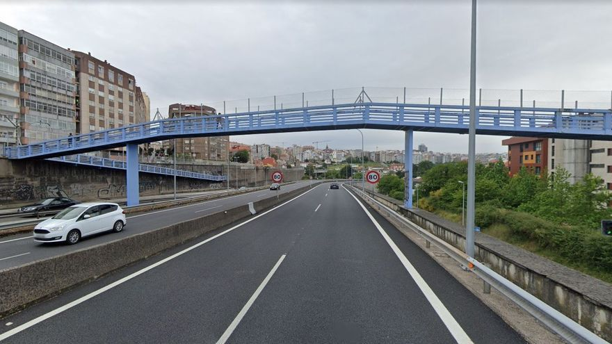 La Policía frustra un intento de suicidio en la AP-9 en Vigo