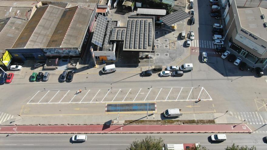 Alboraia mejora el estacionamiento en la calle Fusters