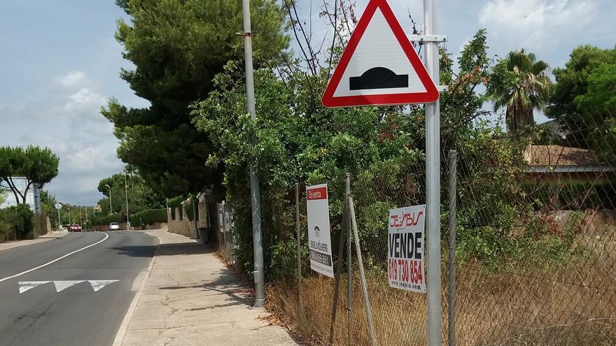Puçol inicia las obras en la acera de Retor Emilio Bayarri