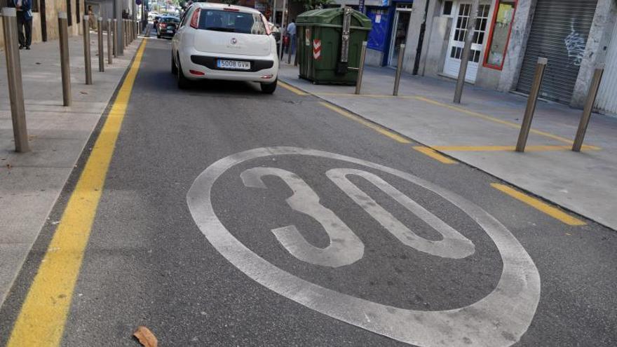 La Zona 30 de Pontevedra se hace global