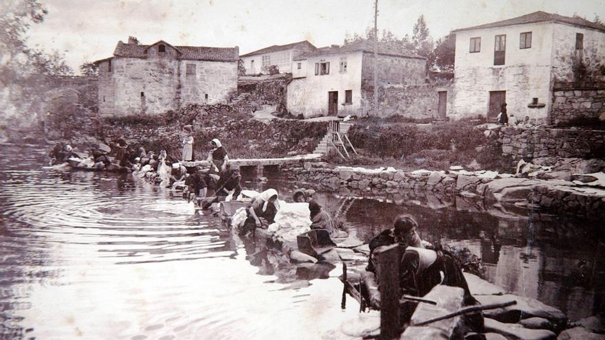 Pontevedra en el recuerdo | El destape histórico del río Os Gafos