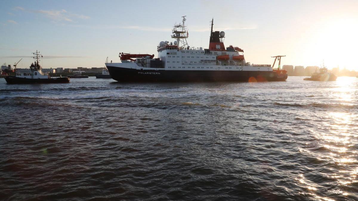 El buque 'Polarstern', de vuelta en Alemania