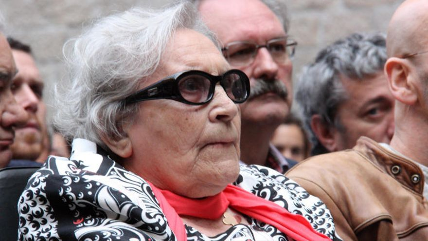 Mor Neus Català, l'última catalana supervivent del camp de concentració nazi de Ravensbrück