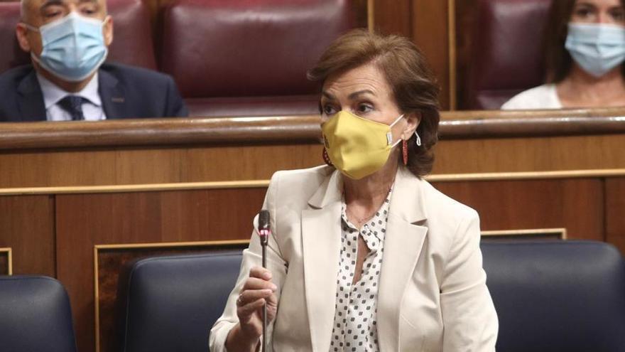"""Calvo acusa al PP de buscar la """"confrontación"""""""