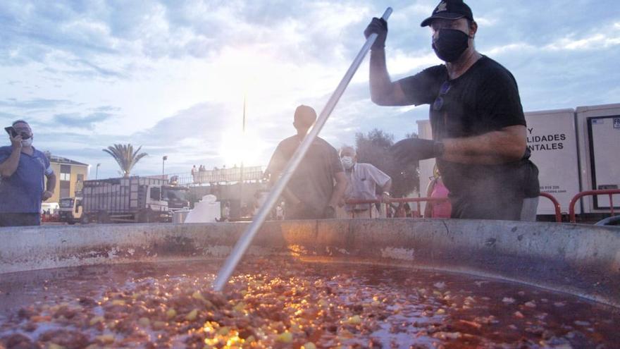 Vila-real celebra el 'tombet' más íntimo de sus fiestas patronales