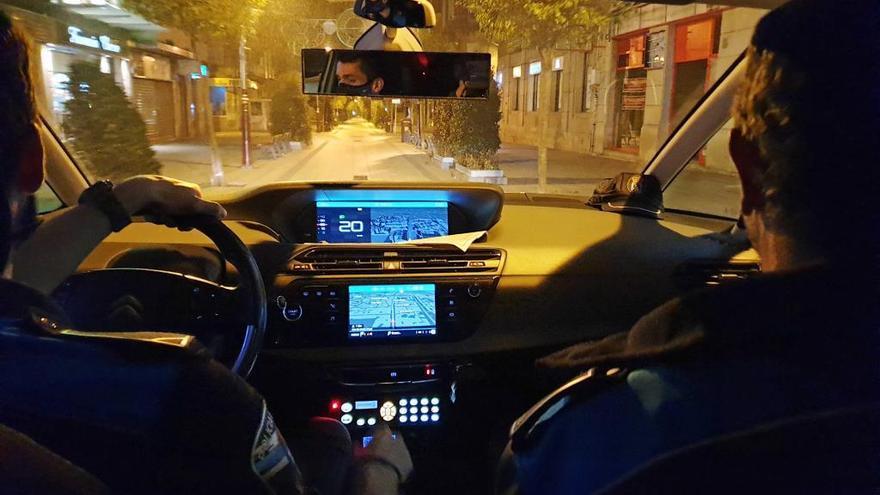 Amplio dispositivo policial en el centro de Vigo por una pelea de jóvenes
