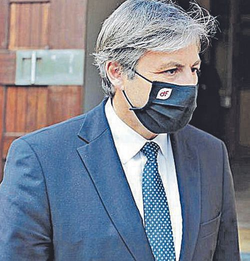 Jaime Argüelles, nuevo consejero delegado de Duro Felguera, a la salida del acto. | Irma Collín