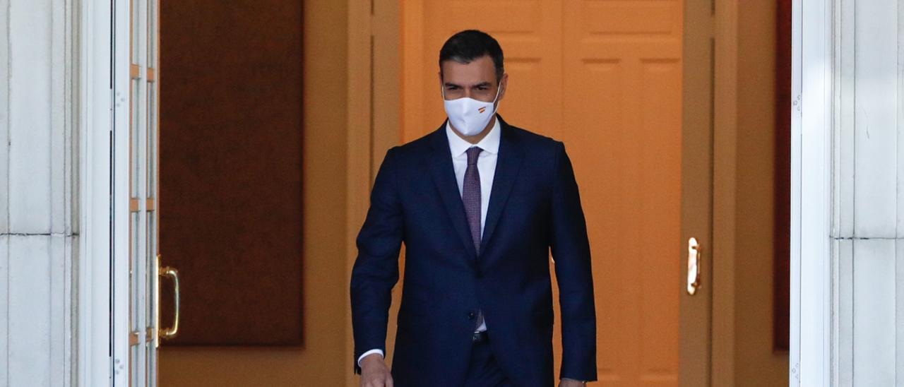 Una imagen de archivo del presidente del Gobierno, Pedro Sánchez.