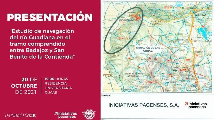 Presentan el estudio de navegación del Guadiana