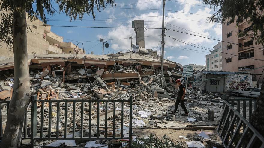 Más de 210 muertos por los bombardeos de Israel contra la Franja de Gaza