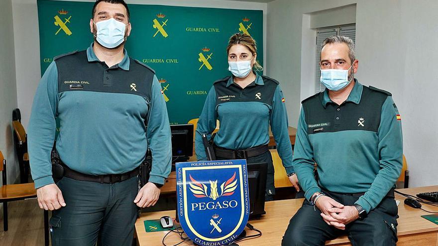 Pegaso, el grupo de la Guardia Civil que dará clases a la Interpol