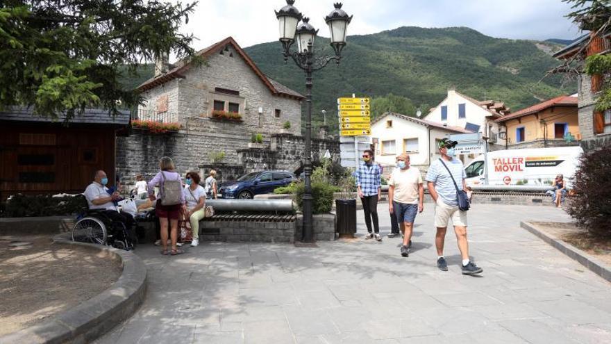 Aragón registra el mejor julio de la historia en los alojamientos rurales