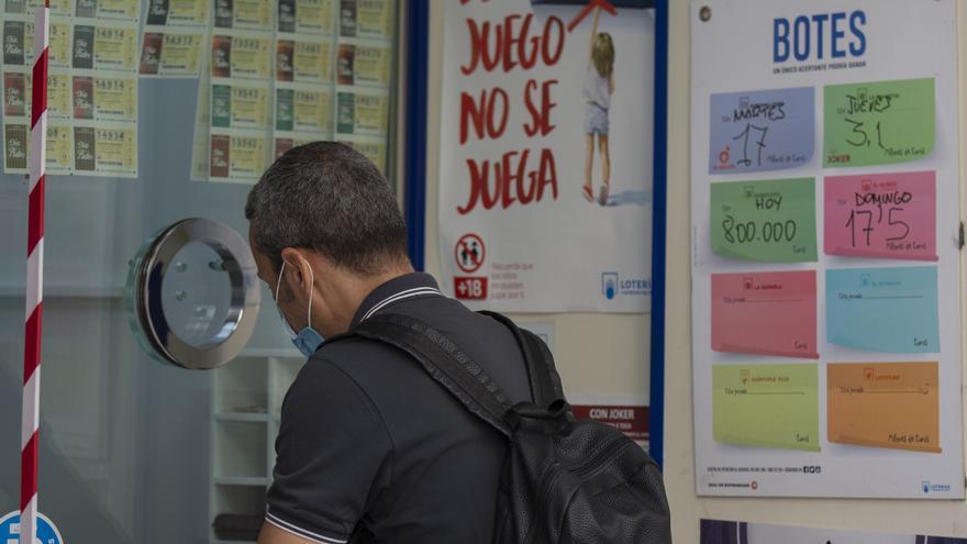Premio de 300.000 euros en Málaga capital en el sorteo de la Lotería Nacional