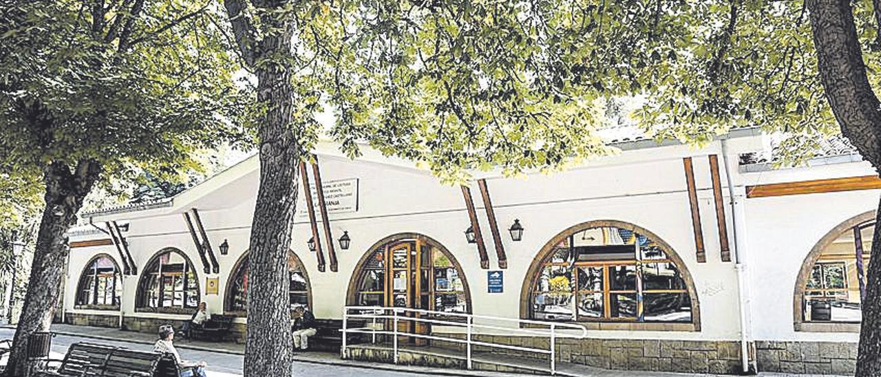 La biblioteca de La Granja. | Irma Collín
