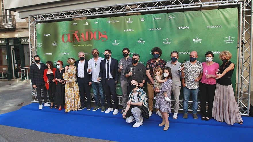 """Ourense despliega la alfombra roja para la """"premier"""" de la película """"Cuñados"""""""