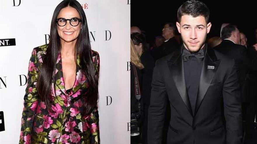 Demi Moore y Nick Jonas, ¿nueva pareja de Hollywood?