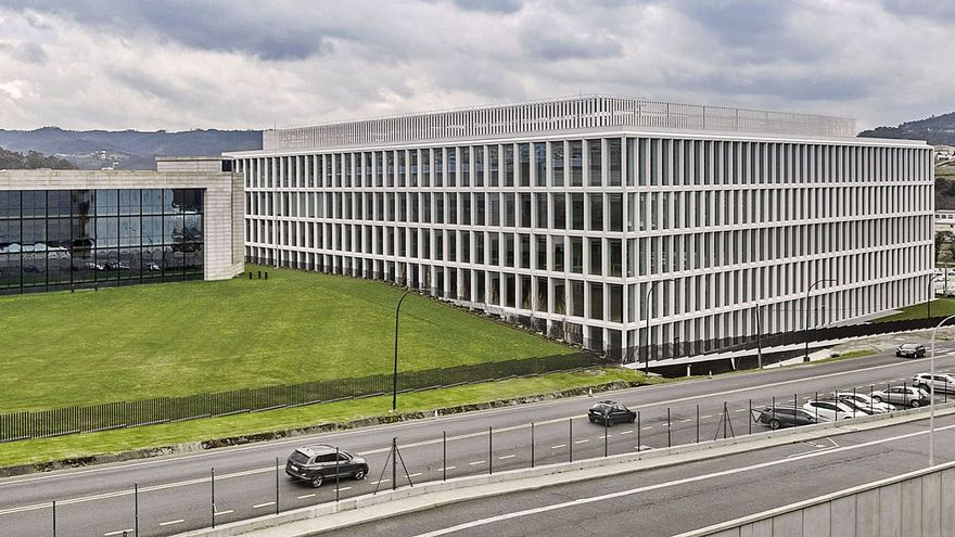 El 50% de la electricidad del nuevo edificio de Inditex se generará con 3.380 placas solares