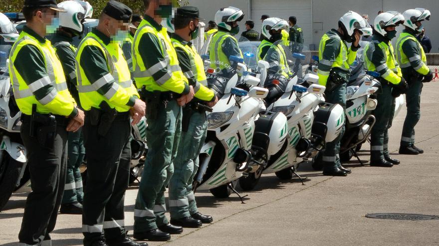 Ciudad Rodrigo rinde homenaje a los dos guardias civiles fallecidos en acto de servicio