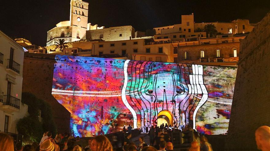 Ibiza Light Festival regresa al formato en vivo para inundar de luz Dalt Vila
