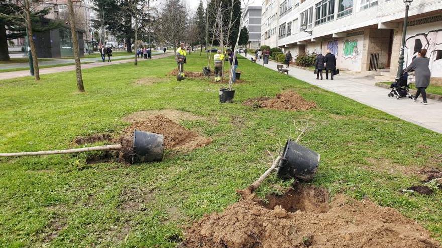 Mantenimiento de zonas verdes de Vigo desconvoca la huelga