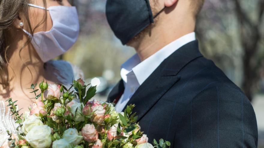 Así serán las bodas en la 'nueva normalidad'