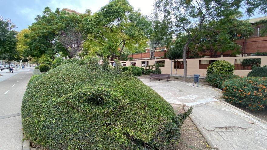 Las imágenes del jardín de los dragones de Nou Llevant
