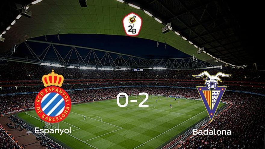 El Badalona se lleva la victoria después de derrotar 0-2 al Espanyol B