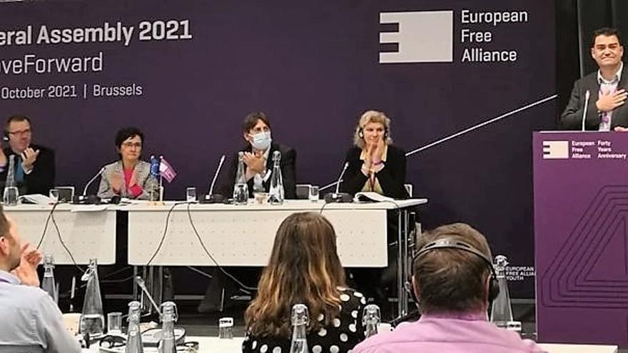 NC impulsa en el Parlamento Europeo una iniciativa para activar el Fondo de Solidaridad de la UE para La Palma
