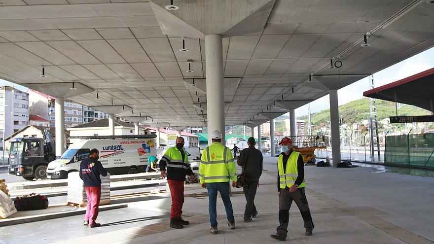 Las obras de la nueva estación de bus, para 400.000 viajeros al año, listas el 24 de enero