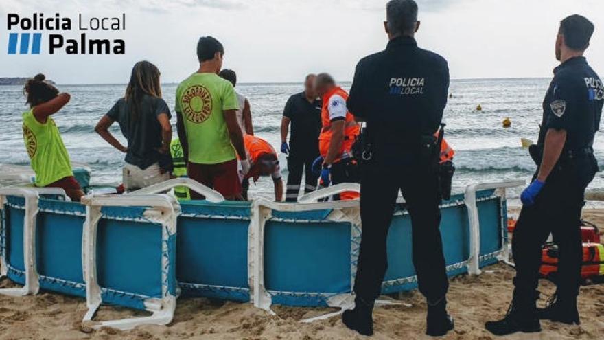Rettungsschwimmer retten 82-Jährige an der Playa de Palma