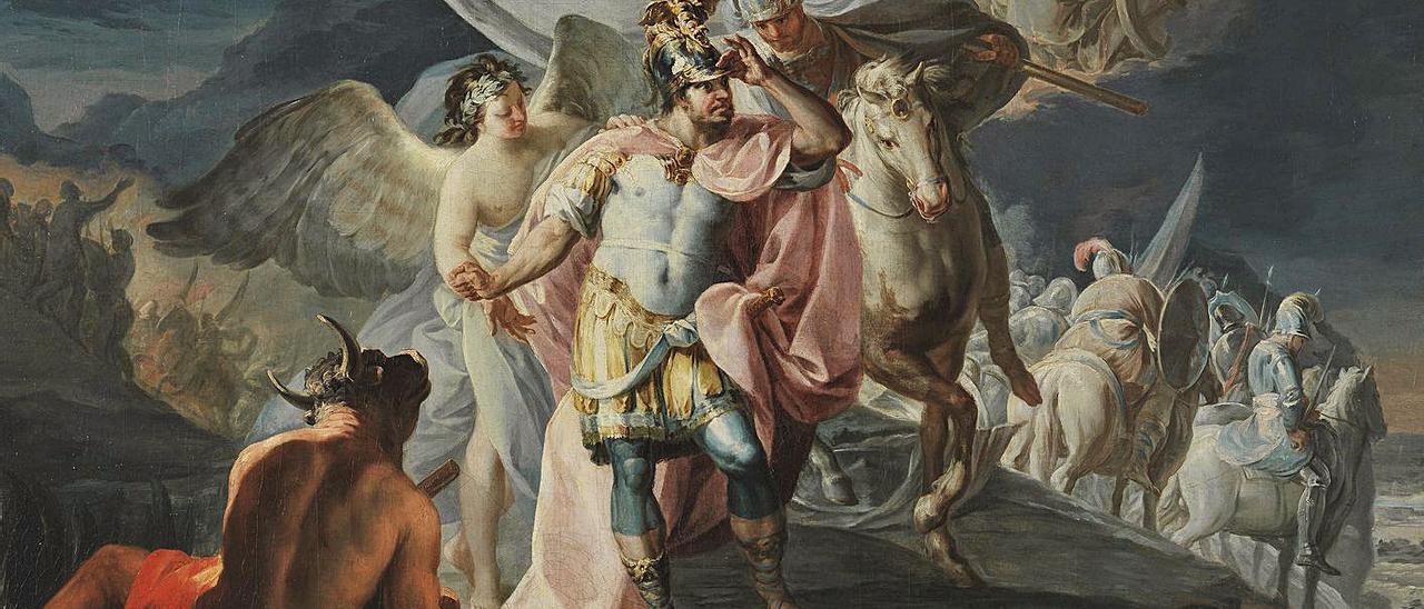 """El """"Aníbal"""" de Goya que perteneció a la Fundación Selgas, hoy en el Museo del Prado."""