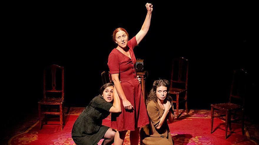 La obra 'Llum trencada' llega el sábado a Can Jeroni