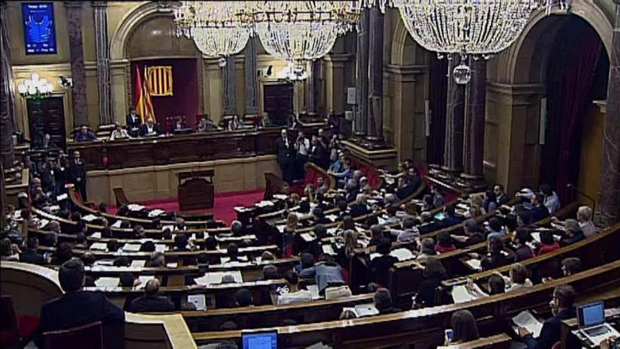 El TC suspende los planes del Parlament para celebrar un referéndum en 2017